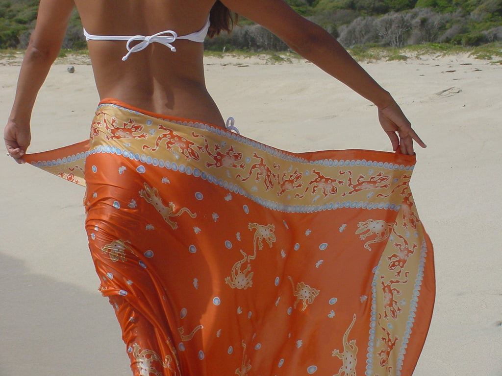 Butterfly vintage Lotty B sarong