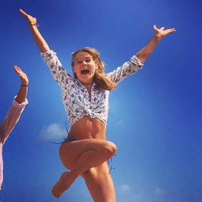 Jump for joy at your little win
