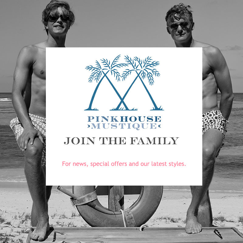 Join the Pink House Mustique family for news, special offers and our latest styles