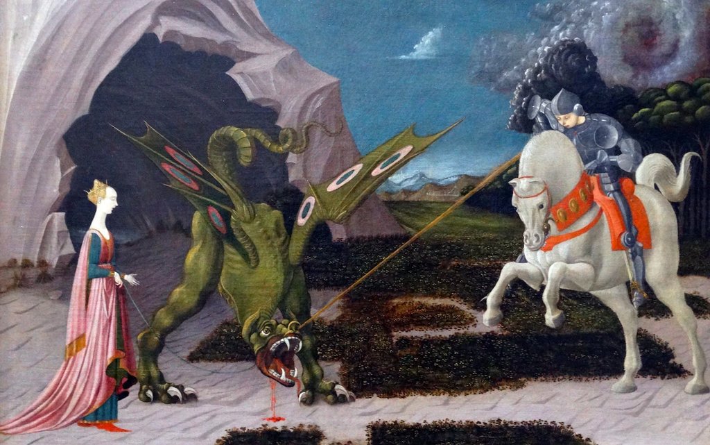 st george and the dragon 23 april uk