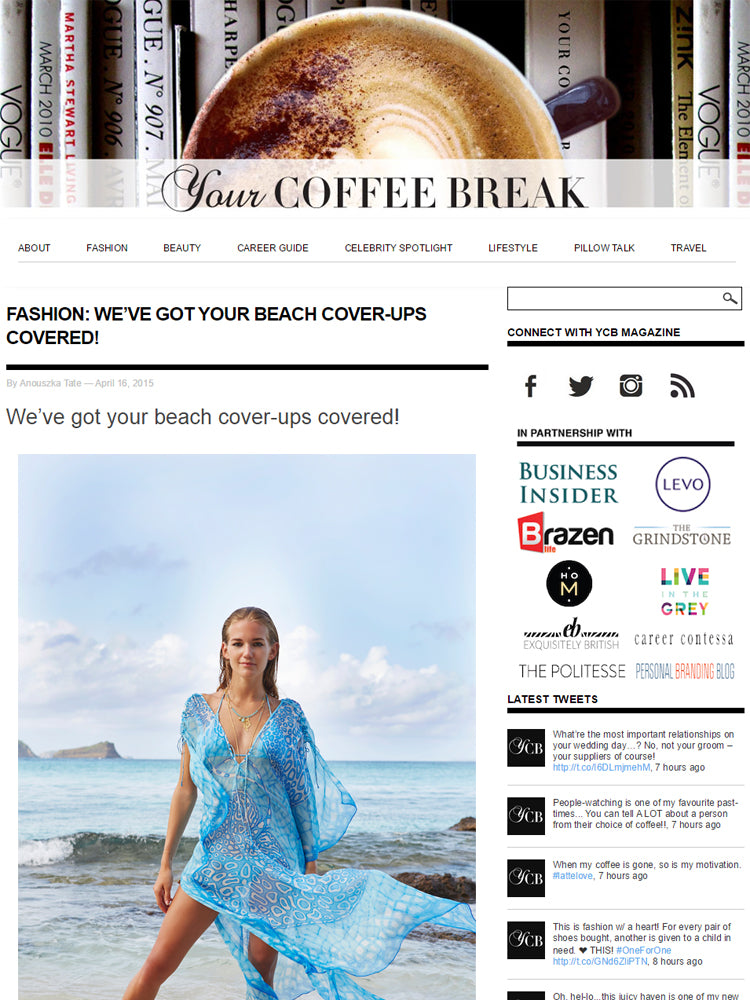 Your coffee break article Apr 15
