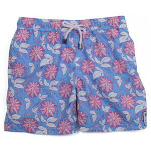 Boys Trunks (Passion Fruit Blue/Pink)