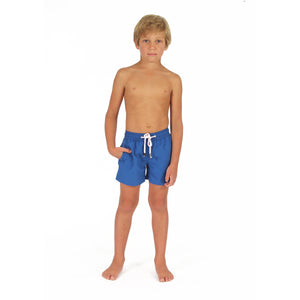 Boys swim trunks : REGATTA BLUE front