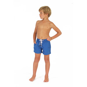 Boys swim trunks : REGATTA BLUE side