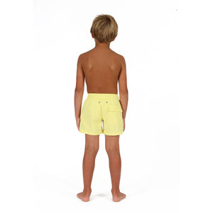 Boys swim trunks : YELLOW back