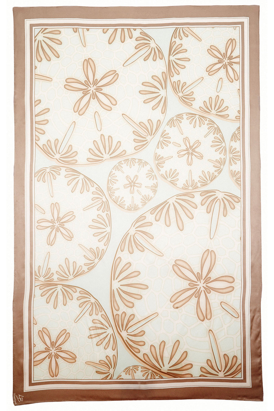 Lotty B Sarong in Silk Charmeuse (Sand Dollar Taupe)
