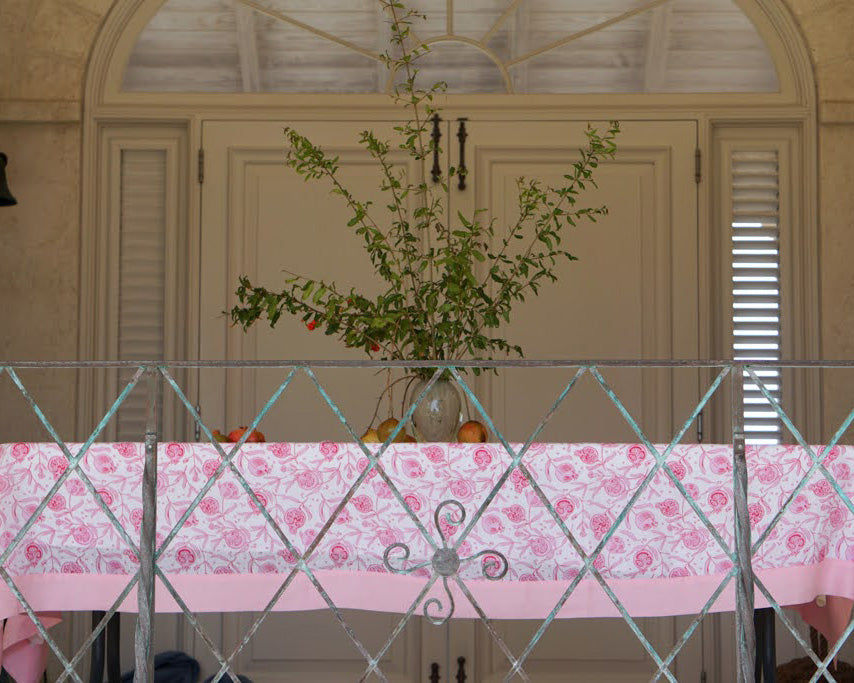 Shop for home, fabric tablecloths by Lotty B Mustique