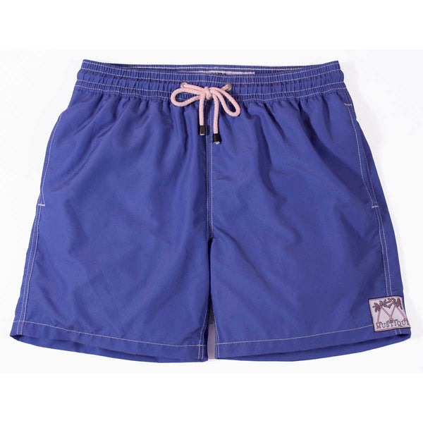 Mens Plain Colour Trunks (Navy)