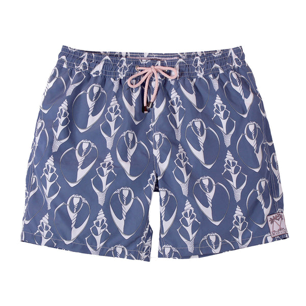 Mens Trunks Shell (Navy/White)