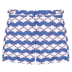 Mens Beach Shorts : MANTA RAY - NAVY
