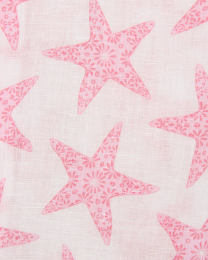 Mens Linen Shirt : SEASTAR - PINK swatch