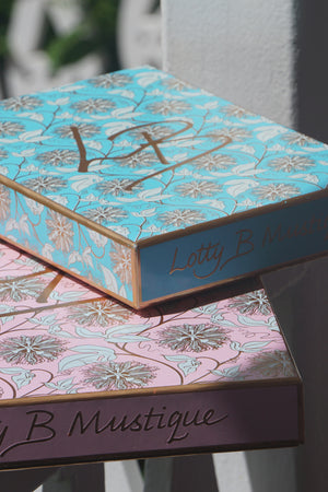 All silks are sent to you in fabulous Lotty B gift boxes