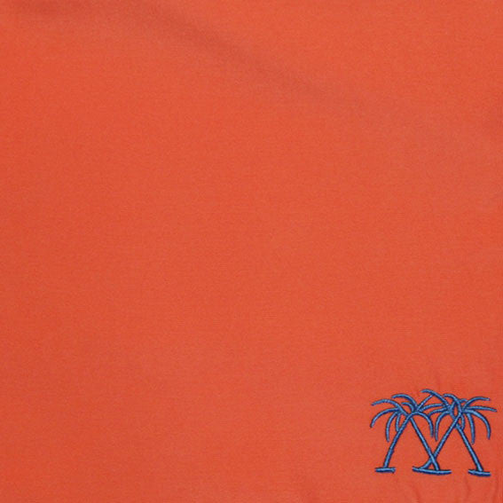 Mens Beach Shorts (Orange) swatch