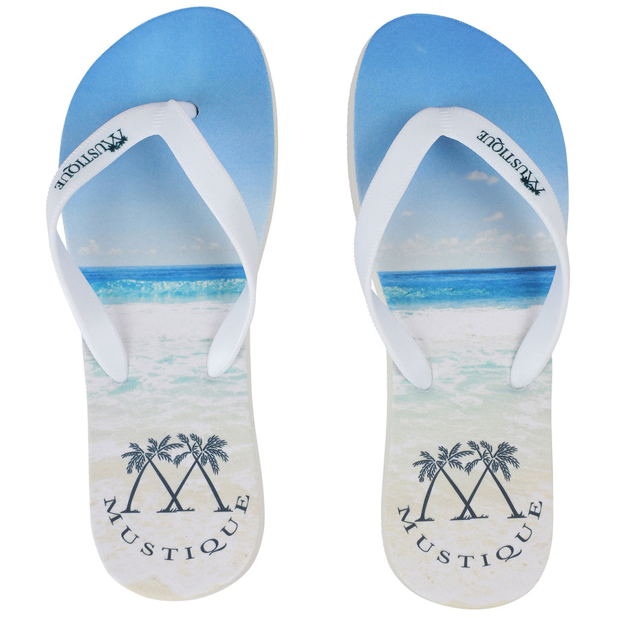 Adult Flip flop: MACARONI BEACH side