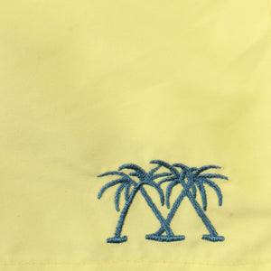 Boys swim trunks : YELLOW fabric detail