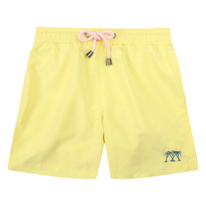 Boys swim trunks : YELLOW