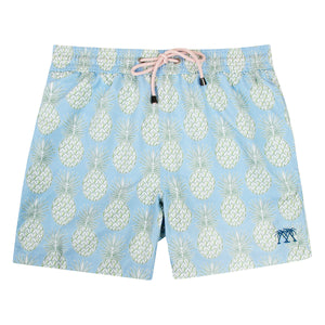 Boys swim trunks : PINEAPPLE - OLIVE