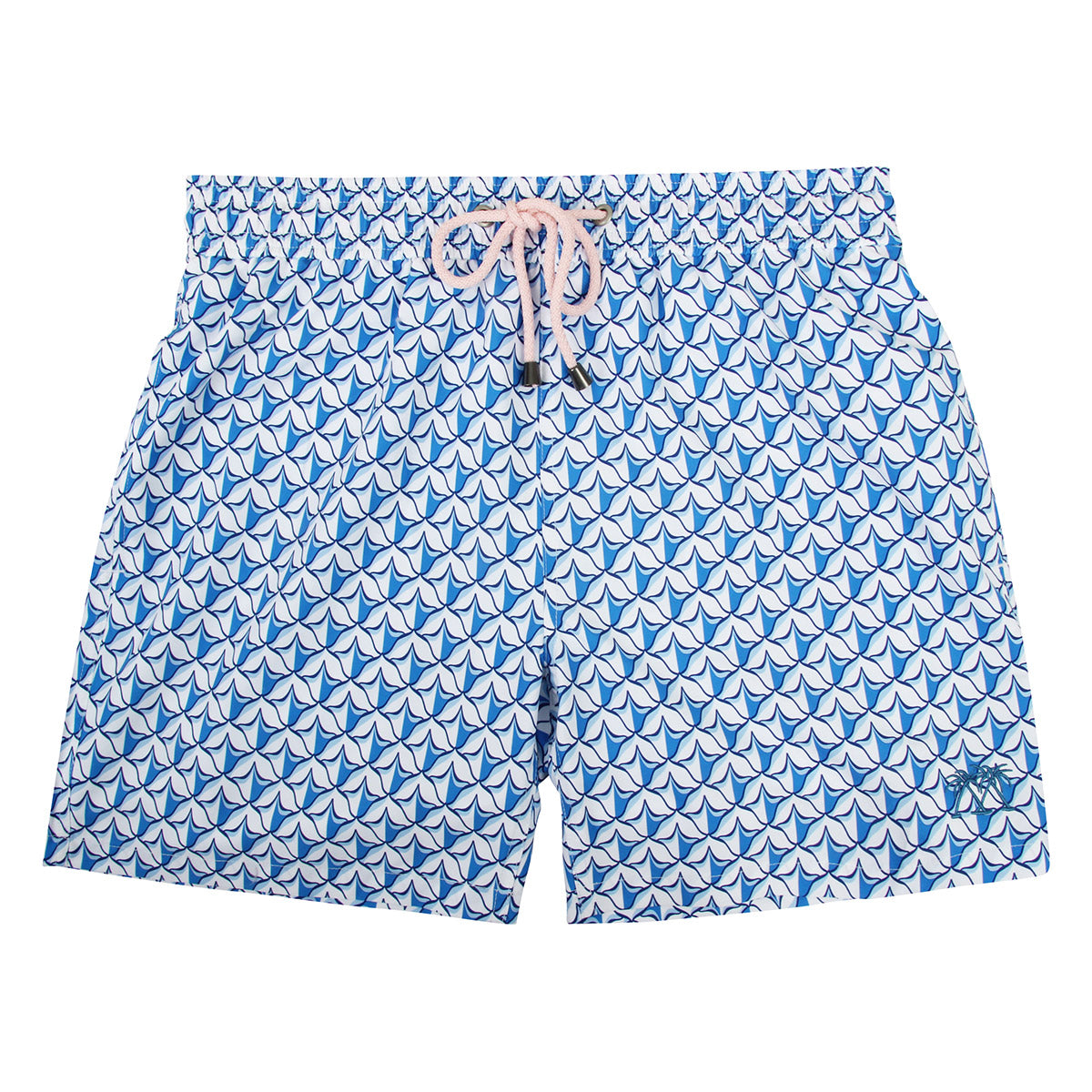 1f34b4f17e Boys swim trunks : PINEAPPLE PRICKLES - BLUE - Pink House Mustique