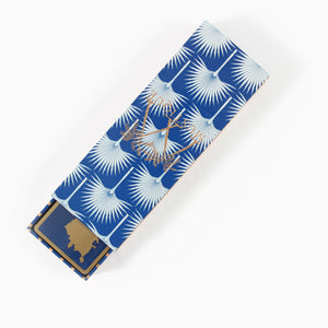 Bridge Set: 2 Decks of Playing Cards : MUSTIQUE ISLAND - BLUE & TURQUOISE