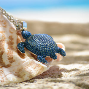 This collection designed by Catherine Prevost in collaboration with Atelier Swarovski is in aid of the St. Vincent & the Grenadines Environment Fund.