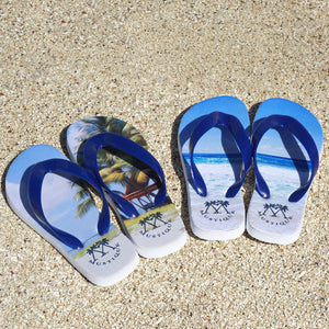 Childrens Flip flop: MACARONI BEACH Mustique life