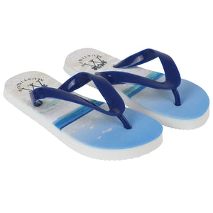 Father & Sons Flip flops: MACARONI BEACH child side
