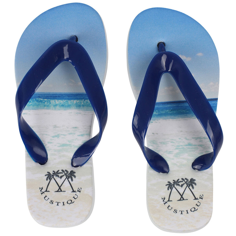 Childrens Flip flop: MACARONI BEACH side