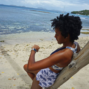 Luxury activewear designed by Lotty B for Pink House Mustique