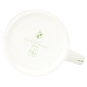 Fine Bone China Mug : SHELL - GREEN designer Lotty B Mustique exclusive interiors