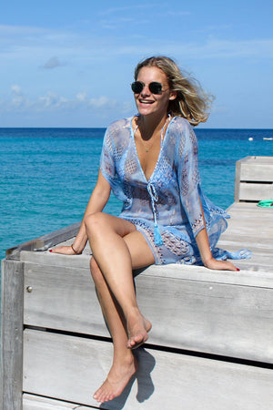 Cosima Kaftan: PINEAPPLE - BLUE