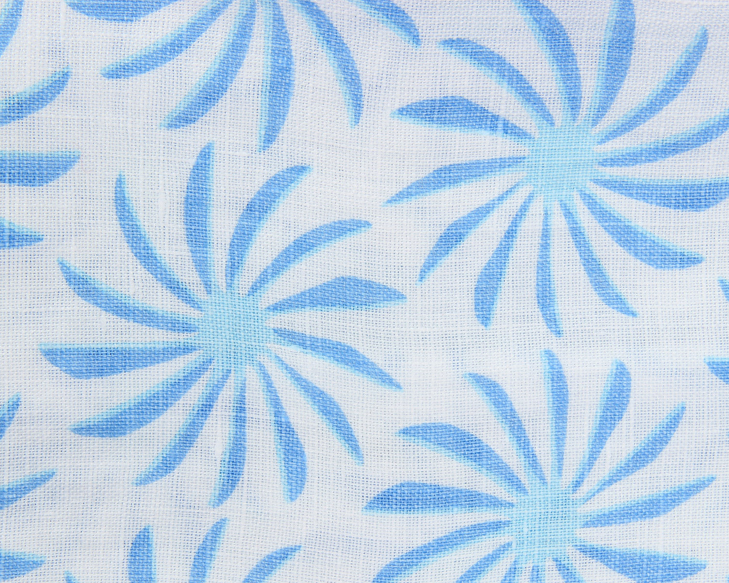 Lotty B Tablecloth & Napkin set: CACTUS - BLUE swatch
