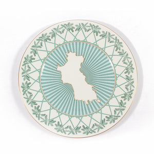 Fine Bone China : MUSTIQUE ISLAND - 1 CHARGER PLATE