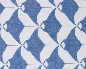 Lotty B Tablecloth & Napkin set: MANTA RAY - NAVY swatch