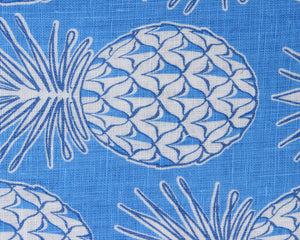 Lotty B Tablecloth & Napkin set: PINEAPPLE - BLUE swatch