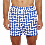 Mens Beach Shorts (Marrakech Navy) Front
