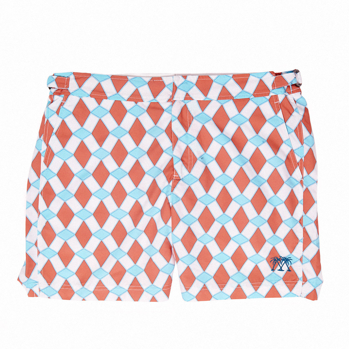 Mens Beach Shorts (Marrakech Orange)