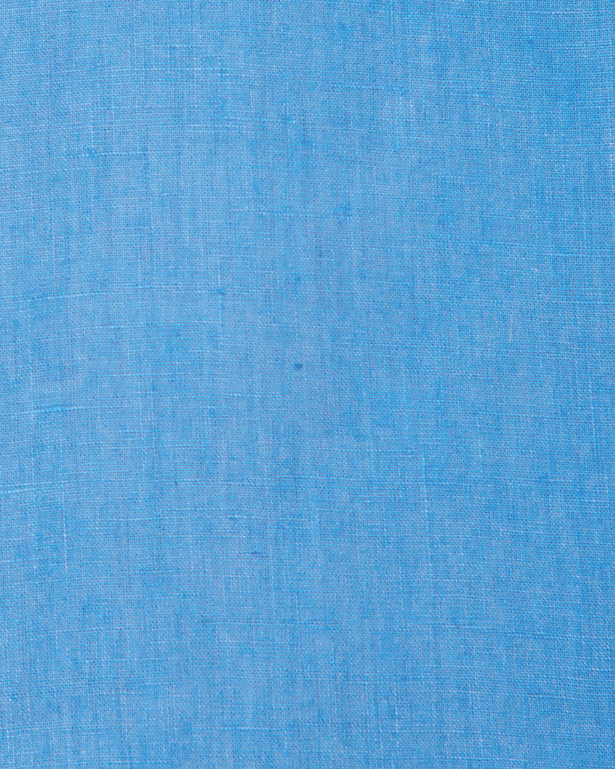 Mens Linen Shirt (Cornflower Blue) Swatch