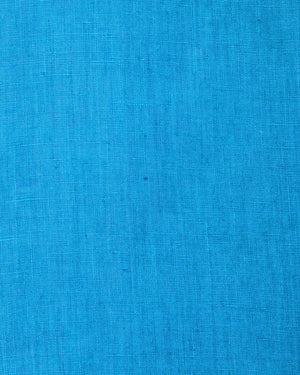 Mens Linen Shirt (Turquoise) Swatch