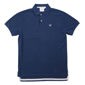 Mens Polo shirt: NAVY - Front