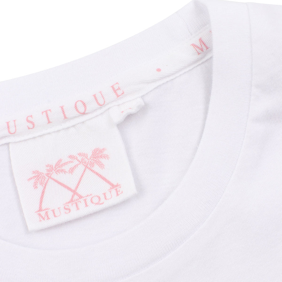 Mens T shirt: White