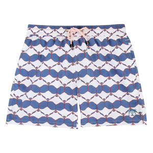Pink House Mustique Mens swim shorts MANTA RAY NAVY