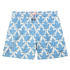 Mens swim trunks : PAPAYA - BLUE