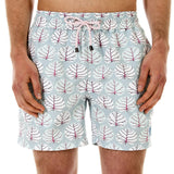 Mens Trunks (Seagrape, Blue/Pink) Front