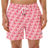Mens Trunks (Shark, Faded Red) Front