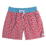 Mens Trunks Fern (Red/Blue) Front