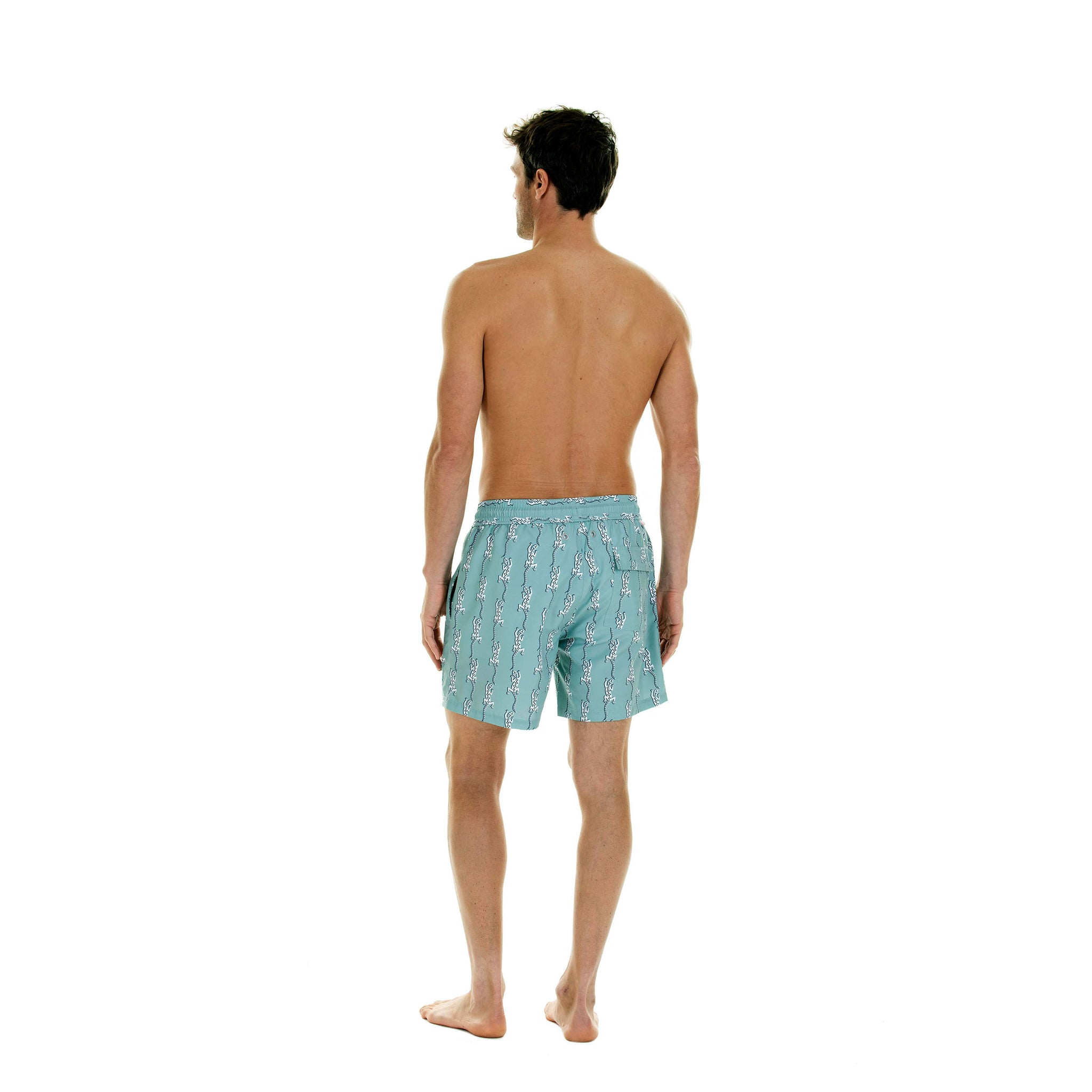 Men/'s Swim Trunks Beach Board Swimwear Shorts Flying Feather Swimming Short Pants Quick Dry Water Shorts Mesh Lining