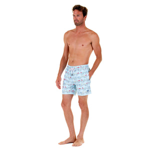 Mens swim trunks : MUSTIQUE MULE - MULTI comfortable, practical & stylish