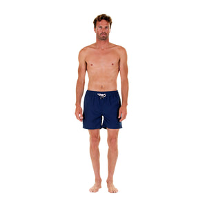 Mens swim trunks : MAKO NAVY - Front