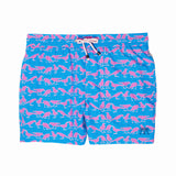 Mens Trunks (Grackle Blue/Pink)