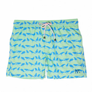 Mens Trunks (Grackle Green)